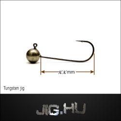 Tungsten jigfej  7,5 gramm  4/0-ás horog