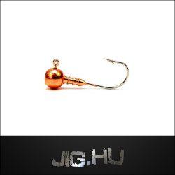 Jigfej (rézzel bevont) 5,5 gramm  4-es horog