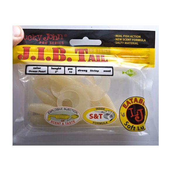 "Lucky John J.I.B. Tail 2"" (5cm) Ocean Pearl No.: 033"