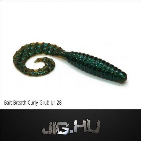 "Bait Breath Curly Grub 3,5""  (8,9cm)  No.: UR 28"