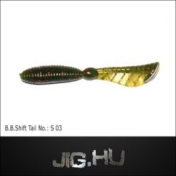"Bait Breath SHIFT TAIL 3"" (7,6cm) No.: S-03"