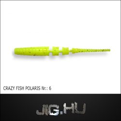 CRAZY FISH POLARIS 2' (54MM) NR.:6