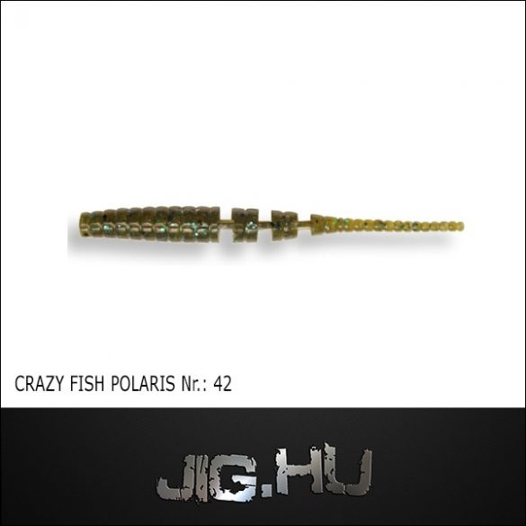 CRAZY FISH POLARIS 3' (68MM) NR.:42