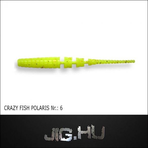 CRAZY FISH POLARIS 3' (68MM) NR.:6