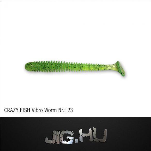 CRAZY FISH VIBRO WORM 3' (76MM) NR.:23