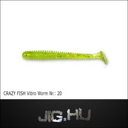 CRAZY FISH VIBRO WORM 3' (76MM) NR.:20