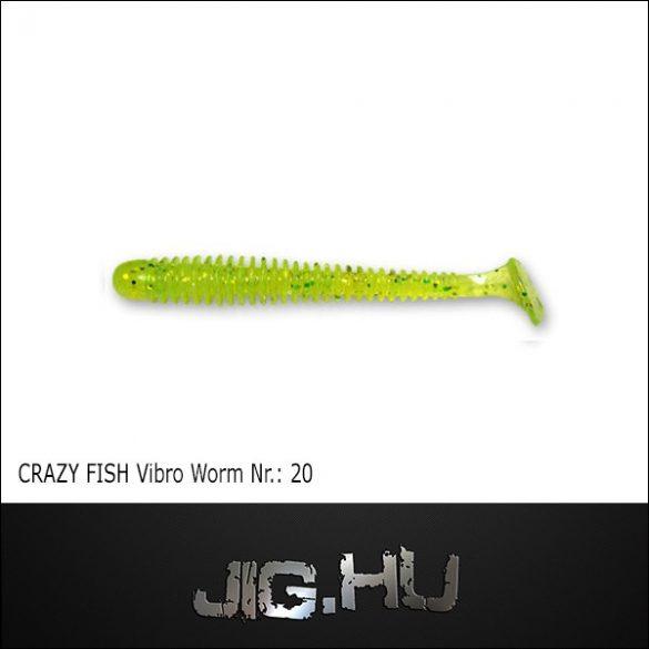 CRAZY FISH VIBRO WORM 3' (76MM) NR.:20