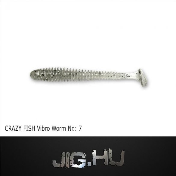 CRAZY FISH VIBRO WORM 3' (76MM) NR.:7