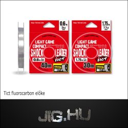 Fluorocarbon zsinór Tict Light Game Compact  Shock Leader #0,8 / 4,1lb. / 0.148mm / 2,0kg /
