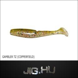 Gambler TZ 158  gumihal  7,5cm  (copperfield)