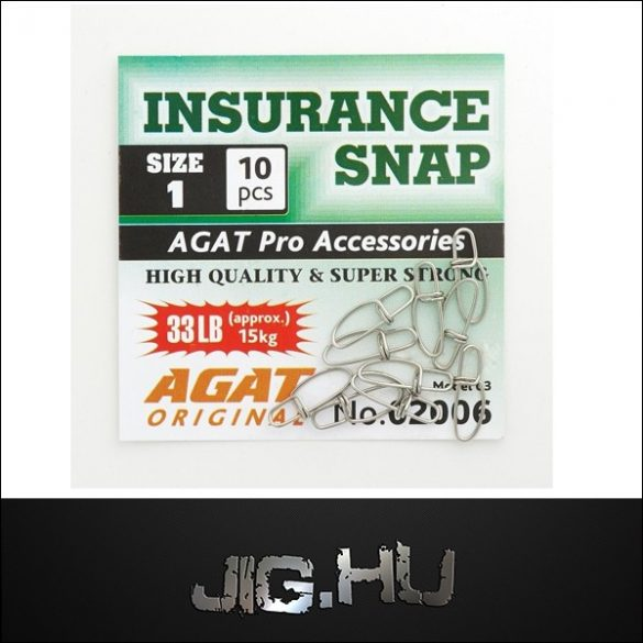 Kapocs AGAT Insurrance Snap, Super Strong No. 02006 #00