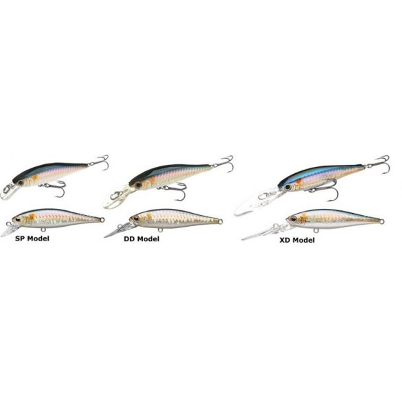 Lucky Craft Pointer 65 SP   MS JAPAN SHAD