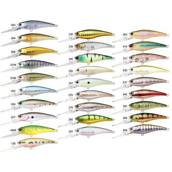 Lucky Craft Staysee 60 SP  - GHOST MINNOW
