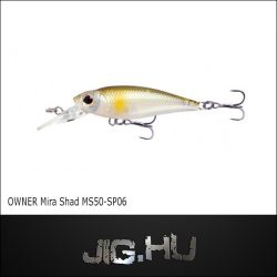 Wobbler Mira Shad MS50 -SP #06 (Shiner)