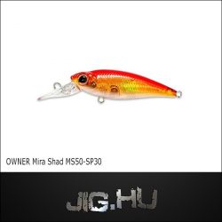 Wobbler Mira Shad MS50 -SP #30 (Flame)