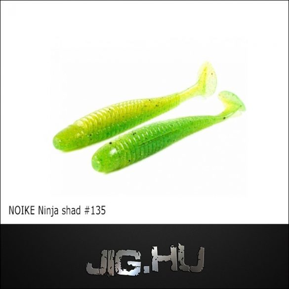 "NOIKE BITEGUTS Ninja 3"" (7,5cm / Lime,Chartreuse) #135"