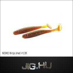 """NOIKE BITEGUTS Ninja 3"""" (7,5cm / MotorOil gold) #139"""