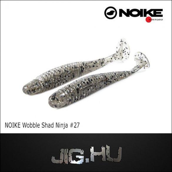 "NOIKE BITEGUTS wobble shad Ninja 4"" (10 cm / Rainbow smoke) #27"