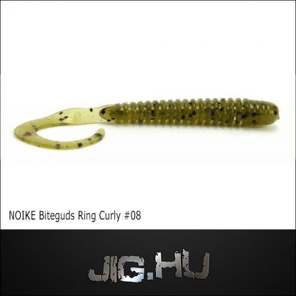 "NOIKE BITEGUTS Ring curly 3"" #08"