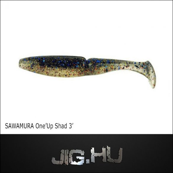 """Sawamura One'Up Shad - 3"""" (7,59cm) No.: #059 gumihal"""