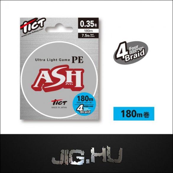 Fonott Zsinór Tict ASH X3  #0,15/0,064mm/4,5lb/200m