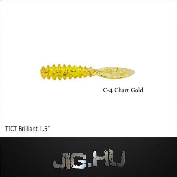 """TICT BRILLIANT 1,5"""" C-4 (Senritsu Chart )"""