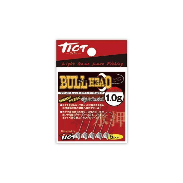 TICT BULL HAED jigfej  1,3 gramm