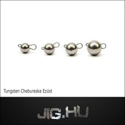 Tungsten Cseburaska jig  3 gramm/ezüst színű