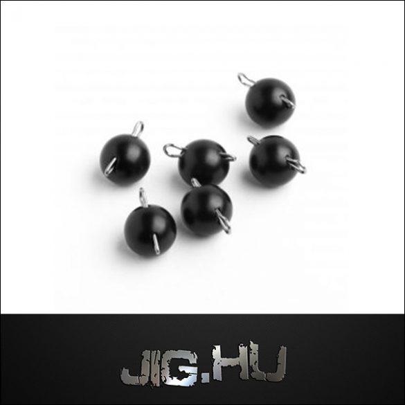 Tungsten Cseburaska jig 7 gramm ( fekete metal)