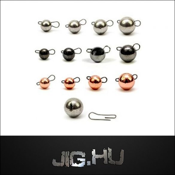 Tungsten Cseburaska jig 2 gramm (metal)