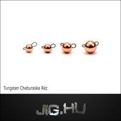 Tungsten Cseburaska jig 2 gramm (réz színű)