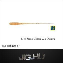 """TICT FISIT NUDE 2'7"""" C19 (Nano Lame Glow Okiami)"""