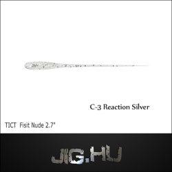 """TICT FISIT NUDE 2'7"""" C3(Reaction Silver)"""