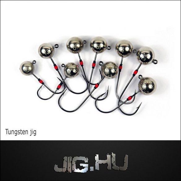Tungsten jigfej 2 gramm -6 os horog