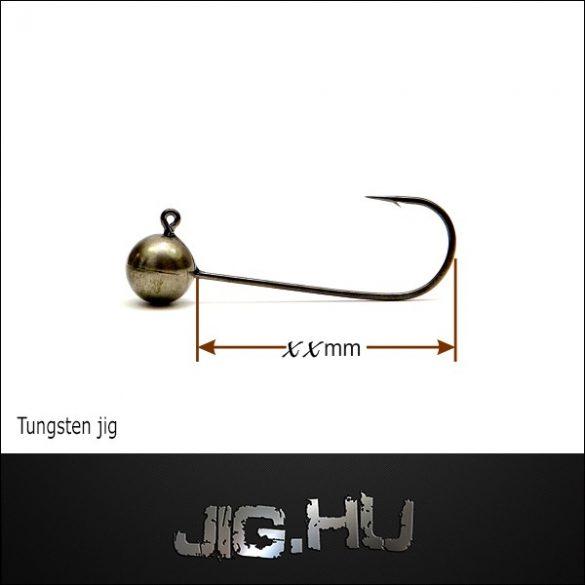 Tungsten jigfej 3 gramm 2-es horog