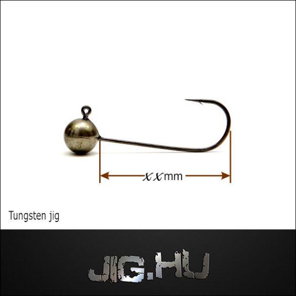 Tungsten jigfej 3 gramm 1/0-ÁS HOROG