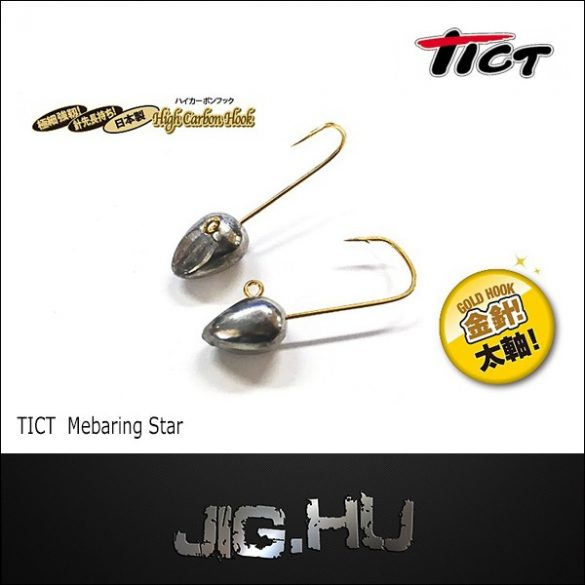 TICT MEBARING STAR jigfej 2 gramm L méret