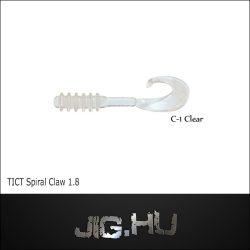 """TICT SPIRAL CLAW 1.8"""" C-1  twiszter"""