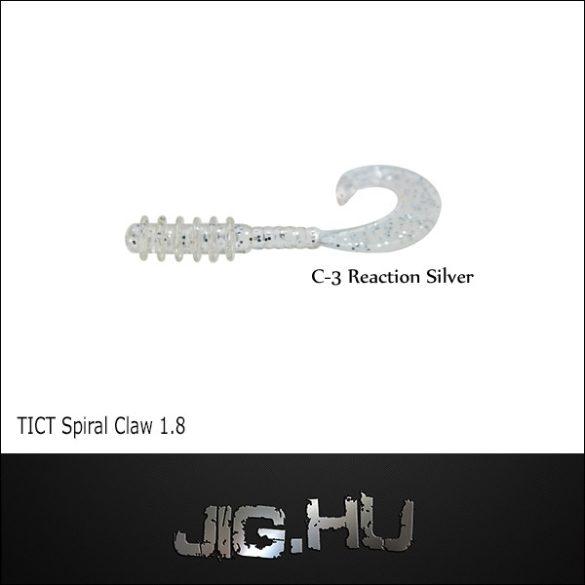 """TICT SPIRAL CLAW 1,8"""" C-3 twiszter"""