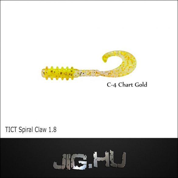 """TICT SPIRAL CLAW 1,8"""" C-4 twiszter"""