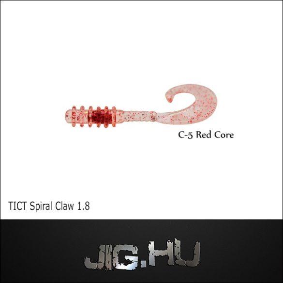 """TICT SPIRAL CLAW 1,8"""" C-5 twiszter"""