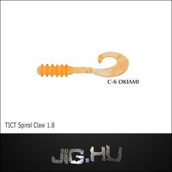 """TICT SPIRAL CLAW 1,8"""" C-6 twiszter"""