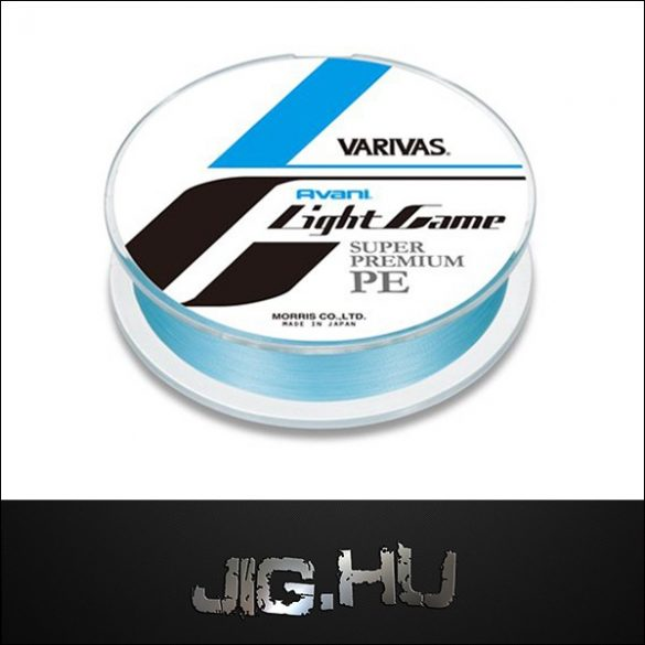 Fonott zsinór Varivas Avani Light Game Super Premium 02   / 0,074 mm/ 2,3kg/ 150m