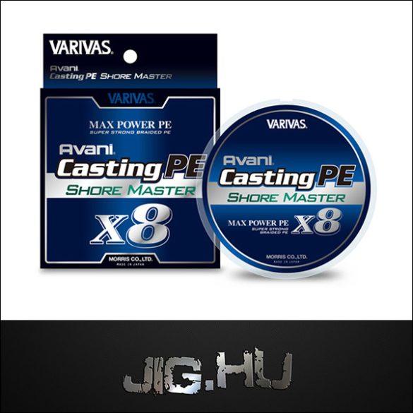 Varivas Avani Casting PE Shore Master X8  3 / 0,285mm/ 21,77kg/ 200m
