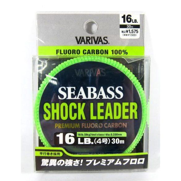 Fluorcarbon zsinór VARIVAS SEA BASS SHOCK LEADER PREMIUM  30m 22 LB. / 0,405mm /11 kg