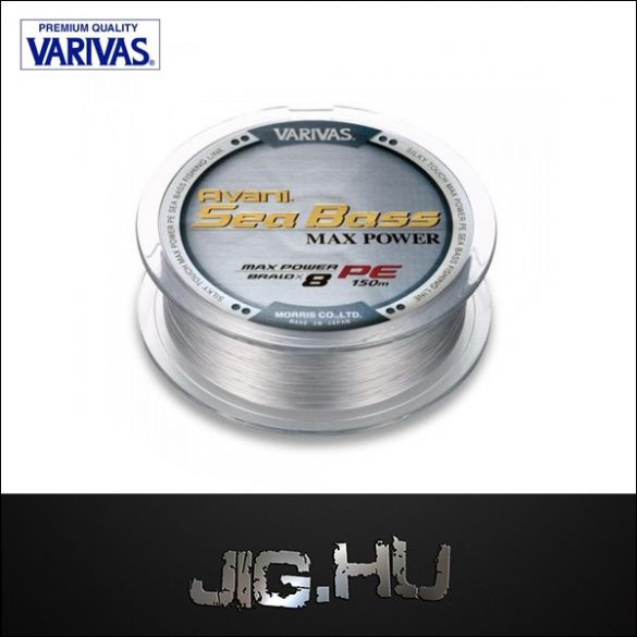 VARIVAS AVANI SEA BASS MAX POWER X8  0.8   /0.148mm /8.3kg/ 150m