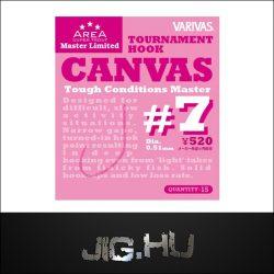 Varivas_Canvas_szakáll_nélküli_horog_No.:_7