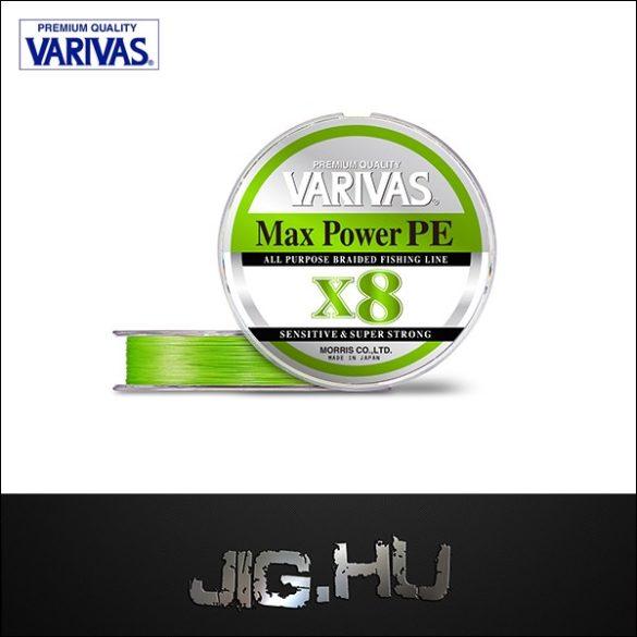 Fonott Zsinór VARIVAS MAX POWER PE X8 #1.0 /20,2LB/ 0.165mm/ 150m