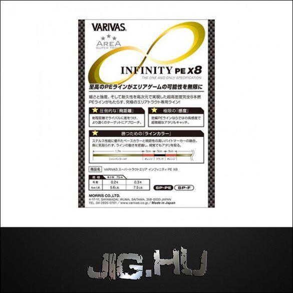VARIVAS Super Trout Area Infinity PE X8 - #0.3 - 0,09 mm (75 m)
