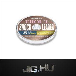 Fluorcarbon zsinór Varivas Trout Shock Leader /8lb / 4,25kg/ 0,235mm